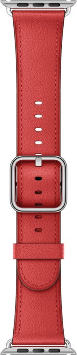 Apple watch náramek 42mm Red Classic Buckle