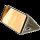 Samsung S8+, Flipové pouzdro Clear View se stojánkem, zlatá