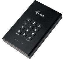 i-tec MySafe USB 3.0 Secret, černá - MYSAFESECRET