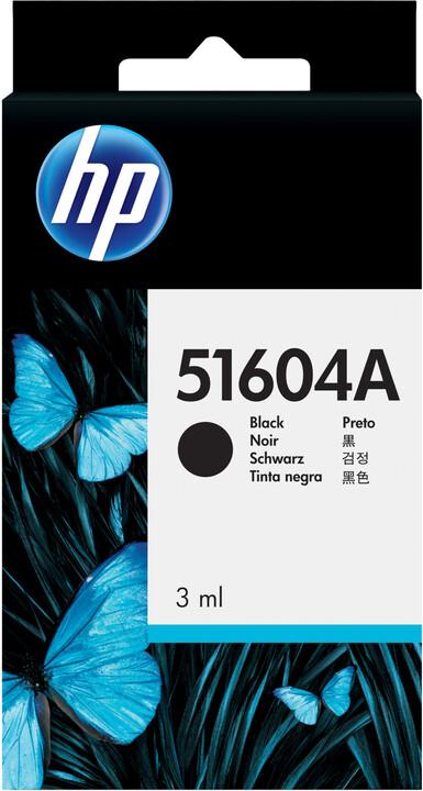 HP 51604A, černá