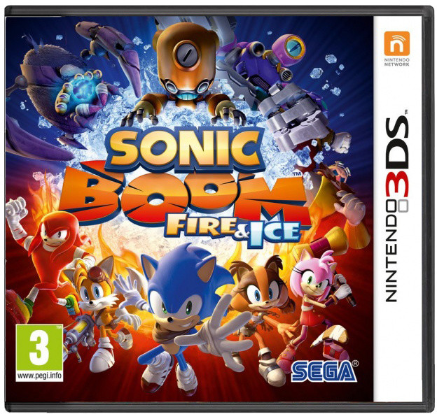 Sonic Boom: Fire & Ice (3DS)
