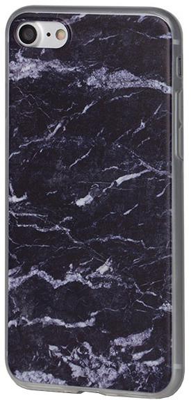 EPICO pružný plastový kryt pro iPhone 7 MARBLE - blue