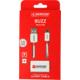Skross Alarm USB kabel BUZZ Micro USB, akustické upozornění, délka 1m, pro nabíjení a přenos dat