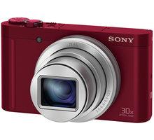 Sony Cybershot DSC-WX500, červená - DSCWX500R.CE3 + Sony pouzdro LCS-BDG pro Cybershot W/WX v ceně 490 Kč