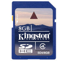 Kingston SDHC 8GB Class 4 - SD4/8GB