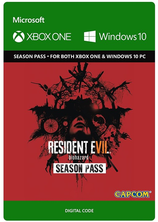 Resident Evil 7 Biohazard: Season Pass (Xbox Play Anywhere) - elektronicky