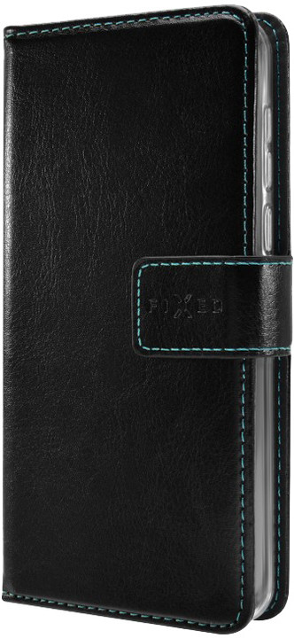 FIXED Opus pouzdro typu kniha pro ZTE Blade A310, černé