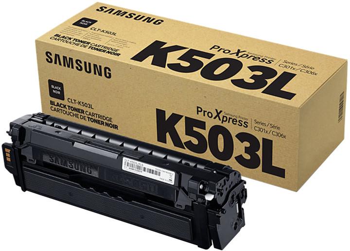 Samsung CLT-K503L/ELS, černá