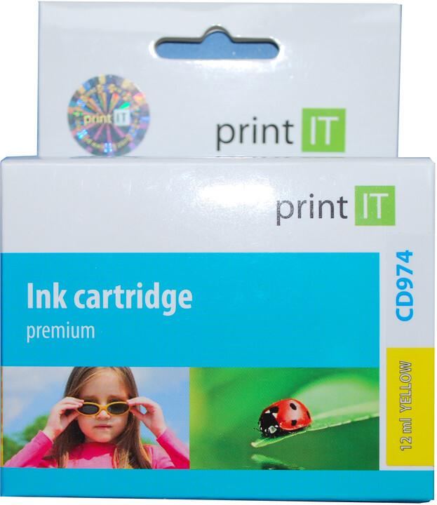 PRINT IT alternativní HP CD974AE No. 920 žlutá