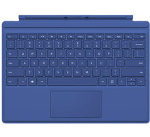 Microsoft Surface Pro 4 Type Cover, modrá - QC7-00096