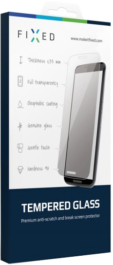 FIXED ochranné tvrzené sklo pro Microsoft (Nokia) Lumia 535, 0.33 mm