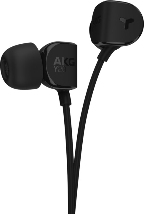 AKG Y20, černá