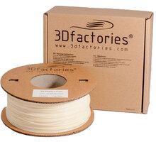 3D Factories tisková struna PLA natur 1,75 mm 1 Kg