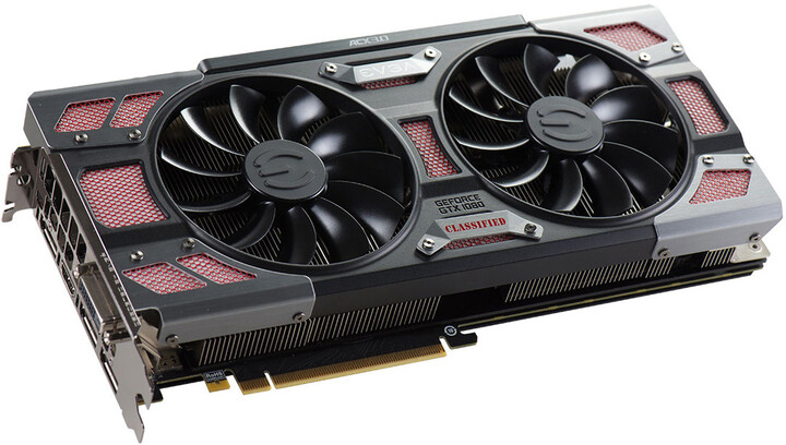EVGA GeForce GTX 1080 CLASSIFIED GAMING ACX 3.0, 8GB GDDR5X