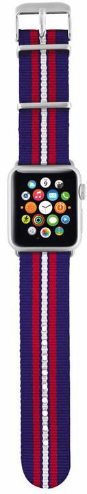 Trust náramek pro Apple Watch 42mm, modrá proužky
