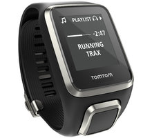 TOMTOM Spark Fitness Premium Edition Cardio + Music (S), černá - 1RFM.003.09