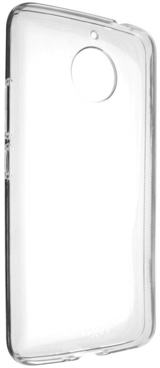 FIXED gelové TPU pouzdro pro Motorola Moto E4, bezbarvé