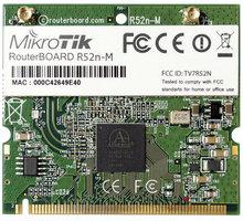 Mikrotik R52n-M miniPCI karta 802.11n, Atheros AR9220 (2,4/ 5 GHz)