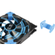 AeroCool Dead Silence Blue Edition, 140 mm