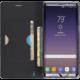 Krusell flipové pouzdro MALMÖ FolioCase pro Samsung Galaxy Note 8, černá