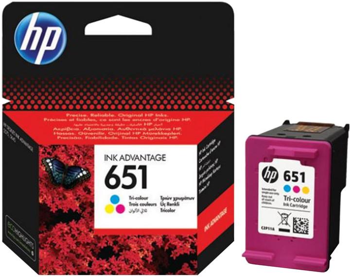 HP C2P11AE, barevná, č. 651