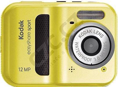 Kodak EasyShare C123, žlutý