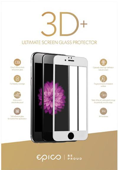 EPICO tvrzené sklo pro iPhone 6 Plus/6S Plus/7 Plus EPICO GLASS 3D+ - černý