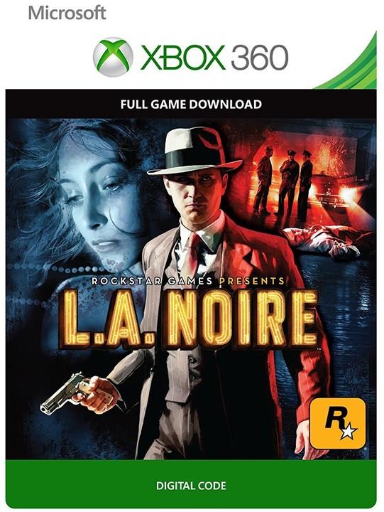 L.A. Noire (Xbox 360) - elektronicky