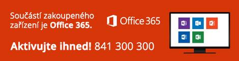 Součástí zakoupeného zařízení je Office 365. Aktivujte IHNED!