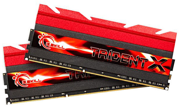 G.SKill TridentX 16GB (2x8GB) DDR3 1600 CL7