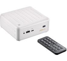 ASRock Beebox /N3000/4GB/128GB mSATA SSD/Bez OS, bílá - BEEBOX N3000-4G128S/W