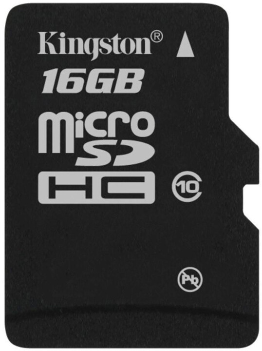 Kingston Micro SDHC 16GB Class 10