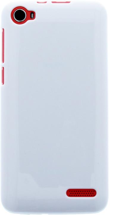 myPhone silikonové pouzdro pro Fun 4, bílá