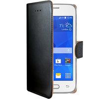 CELLY Wally Pouzdro typu kniha pro Samsung Galaxy Trend 2 Lite, PU kůže, černé - WALLY527