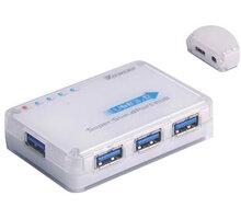 PremiumCord USB 3.0 HUB 4-portový s napájením - 8592220011635