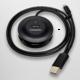 AXAGON HUE-X6GB 4x USB2.0 hub 80cm cable + micro USB OTG BLACK