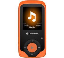 GoGEN MAXI MP3, 4GB, oranžová - GOGMAXIMP3O
