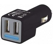 Emos napájecí zdroj USB CL duální 2x 2.1A, do auta - 1704022400