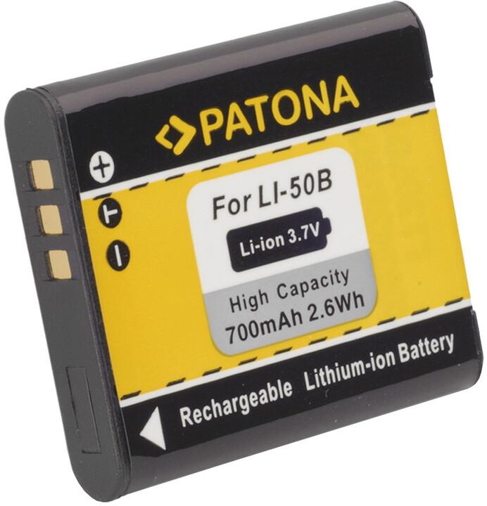 Patona baterie pro Olympus Li-50B 700mAh