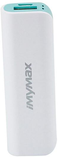iMyMax Mini Power Bank 2.600mAh, zelená
