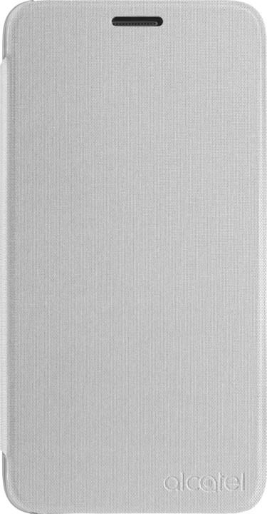 ALCATEL FC5051 FlipCase POP 4, stříbrná