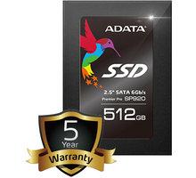 ADATA Premier Pro SP920 - 512GB - ASP920SS3-512GM-C