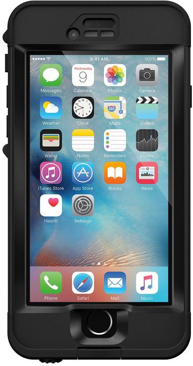 LifeProof Nüüd pouzdro pro iPhone 6s, odolné, černá