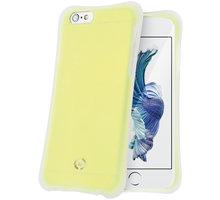 CELLY ICECUBE zadní kryt pro Apple iPhone 6S, žlutá - ICECUBE700YL