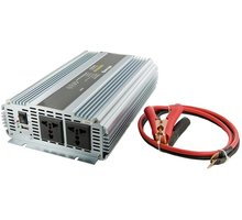 Whitenergy měnič napětí DC/AC, 24V/230V, 1500W - 06590