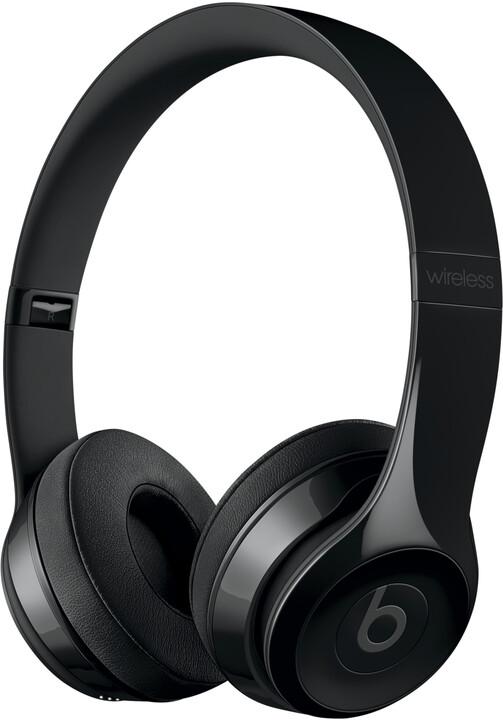 Beats Solo3, lesklá černá