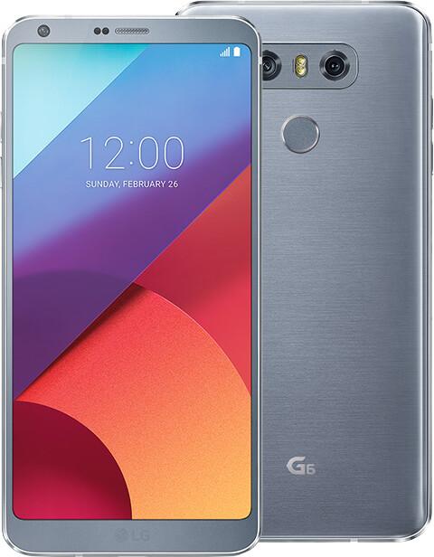 LG G6 - 32GB, stříbrná