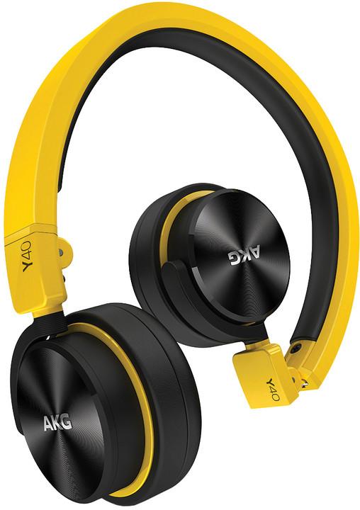 AKG Y40, žlutá