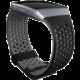 Fitbit Ionic sportovní řemínek černošedý - velikost L