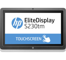 "HP EliteDisplay S230tm - LED monitor 23"" - E4S03AA"